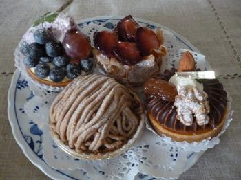 ル・ププランのケーキとメグ 021.JPG